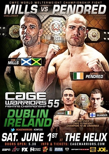 Cage Warriors 55 Results / Reaction