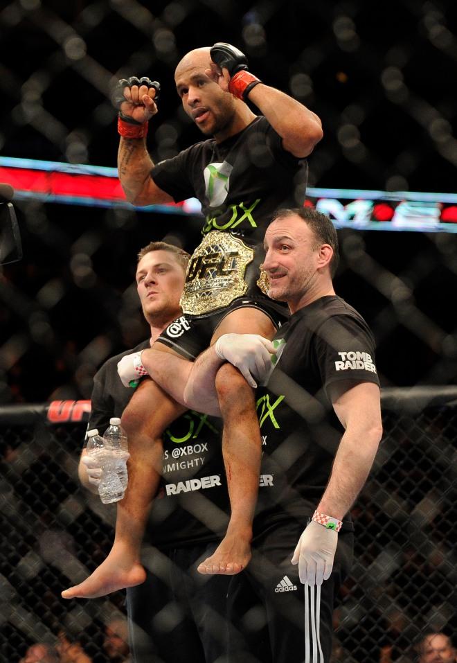 MMA: UFC on FOX 6-Johnson vs Dodson